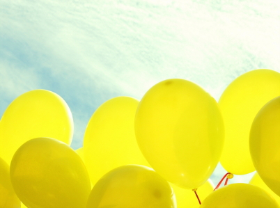 Yellow Balloons